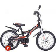 """Велосипед Конек-горбунок Black Aqua Wave 14"""" KG1401"""