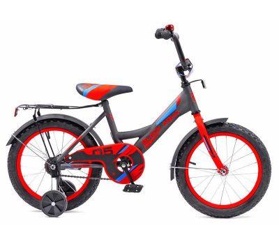 "Велосипед Конек-горбунок Black Aqua HH-1405-T 14"""