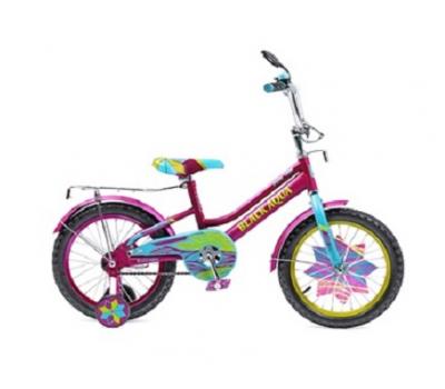 "Велосипед Конек-горбунок Black Aqua Lady 14"" KG1415"