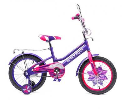 "Велосипед Конек-горбунок Black Aqua Lady 16"" KG1615"