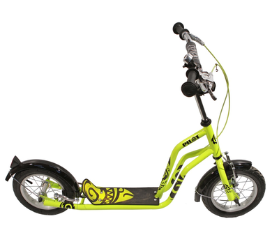 "Самокат OLIMP 12"" Green, V-brake, подножка (SO01201)"