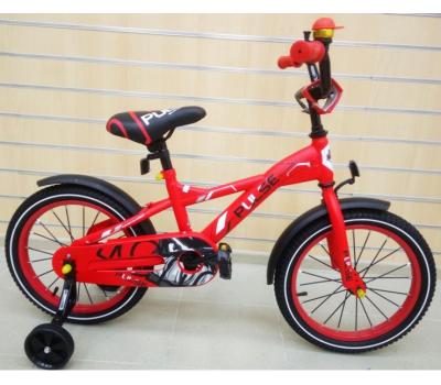 "Велосипед PULSE P1604-2 16"" красн."