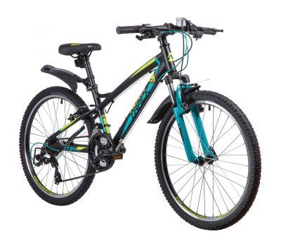 """Велосипед Novatrack 24"""" TORNADO (алюм. рама 13"""") черный 21ск."""